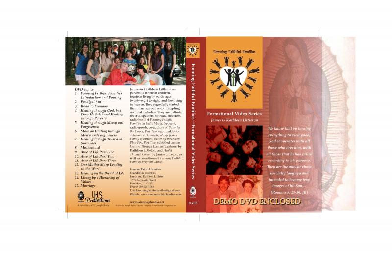 Cover for DVD series